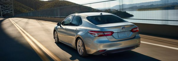 The 2018 Toyota Camry in a blog post about Toyota cars for sale in Charleston, SC.